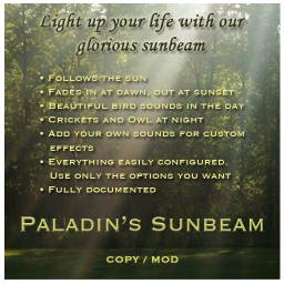 Paladin's Sunbeam